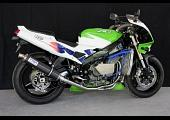 Set, Pipe, Stainless, Full Race System, Round Carbon Silencer, ZXR400L