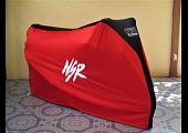 TYGA Bike Dust Cover, Red/Black, Honda NSR