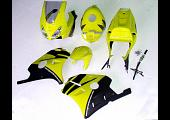 Kit, Complete Body Set  with tank cover, MC22 T8, Painted Yellow/Black