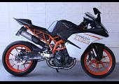 Set, Pipe, Full Race System, WSS300, (Street) KTM RC390