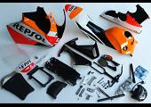 Bodywork Set, MRX, MSX125 Grom First Generation, Painted Repsol