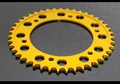 Sprocket, Rear 43T, Aluminium, (Gold)#520 Conversion