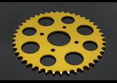 Sprocket, Rear 38T, #520, Stock, Aluminium, (Gold), KTM 125/200 Duke