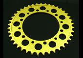 Sprocket, Rear 38T, #525, Stock, Aluminium, (Gold), NC30
