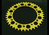 Sprocket, Rear 40T, #520, Stock, Aluminium, (Gold), VJ22