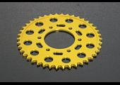 Sprocket, Rear 38T, #520, Stock, Aluminium, (Gold), Kawasaki ER6