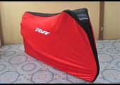 TYGA Bike Dust Cover, Red/Black, Honda RVF
