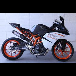 Set, Pipe, Full Race System, WSS300, (Race) KTM RC390 1