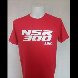 "TYGA T-Shirt ""NSR300\"" Red, Extra Large 1"