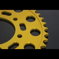 Sprocket, Rear 38T, #520, Stock, Aluminium, (Gold), Kawasaki ER6 2