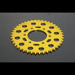 Sprocket, Rear 38T, #520, Stock, Aluminium, (Gold), Kawasaki ER6 1