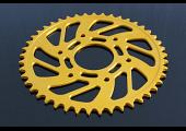 Sprocket, Rear 45T, #520, Stock, Aluminium, (Gold), KTM Duke/RC 125/200/250/390
