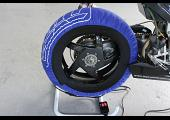 Tyre Warmers, Lightweight Sports, Blue