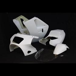 Kit, Fairing Set, Street, Single Seat, GRP, Stock Shape, VJ21 1