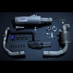 Set, Pipe, Full Race System, WSS300, KTM 390 Duke 1