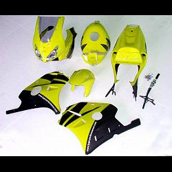 Kit, Complete Body Set  with tank cover, MC22 T8, Painted Yellow/Black 1